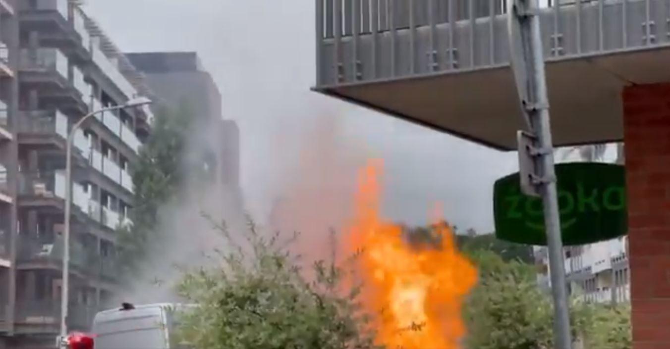 wrocław -w wybuch gazu