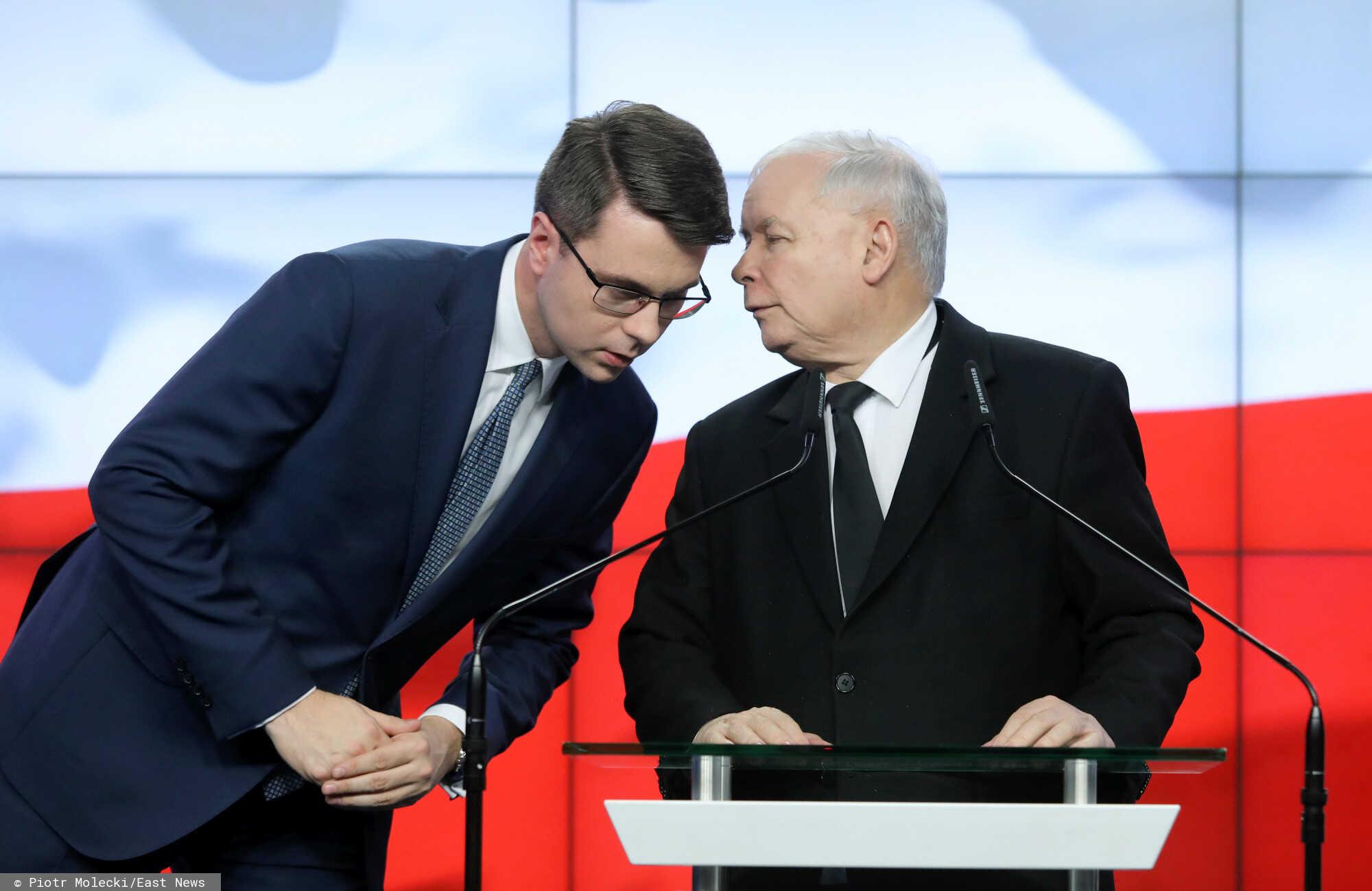 Nowogrodzka jest sceną dla rozgrywek wewnątrz Zjednoczonej Prawicy.