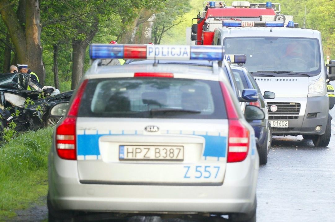 W Jełowiej w woj. opolskim doszło do wypadku autobusu z dziećmi