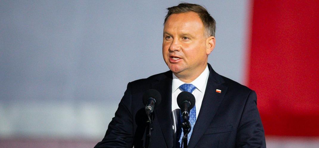 Prezydent Andrzej Duda skomentował śmiertelne postrzelenie policjanta w Raciborzu