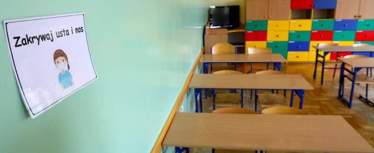 26 kwietnia w wielu szkołach rozpoczyna się nauka hybrydowa