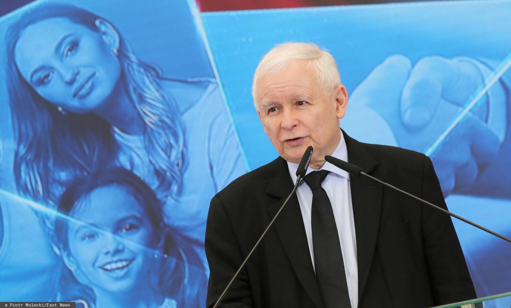 Jarosław Kaczyński - obrady sejmu