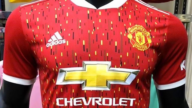 Manchester United S Home Shirt For 2021 All But Confirmed The United Stand