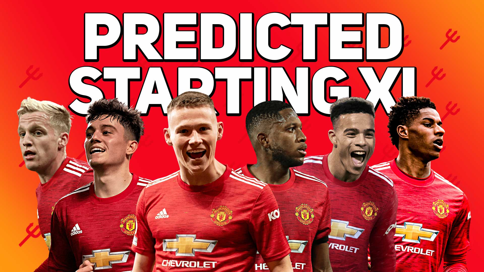 Predicted Starting Xi Liverpool Vs Manchester United The United Stand