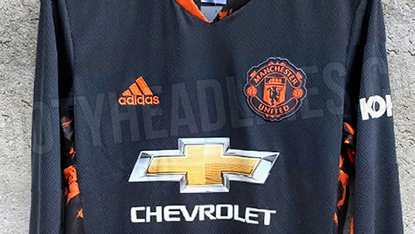 Kit Leak Man Utd Goalkeeper Jersey 2020 21 The United Stand