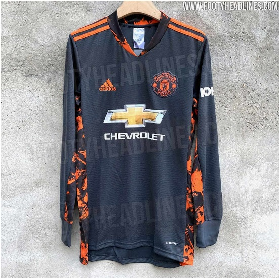 Kit Leak Man Utd Goalkeeper Jersey 2020 21 The United Stand
