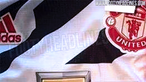 Leaked Man Utd Zebra Kit Out Prison Break Kit In The United Stand