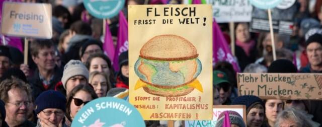 """Klimarebellen vor Grüner Woche – """"Eventuell gibt es eine Blockade"""""""