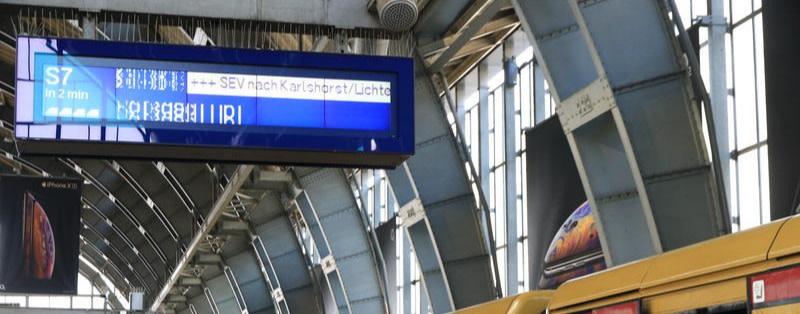 Warum die S-Bahn-Anzeigen so laaaangsam sind