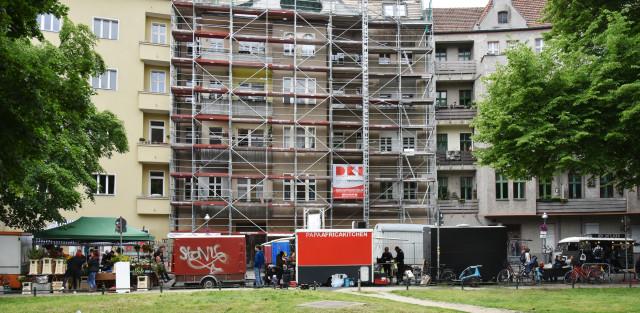 Erste Wohnungsgesellschaften stoppen Bauvorhaben wegen des Mietendeckels