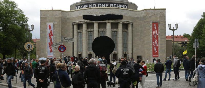 Wie die Volksbühne gegen die Vereinnahmung durch Rechte kämpft