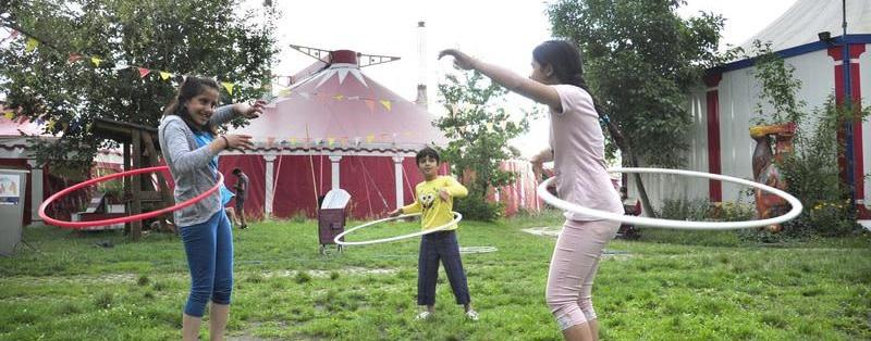 Zirkus Cabuwazi wird auf dem Tempelhofer Feld jetzt geduldet