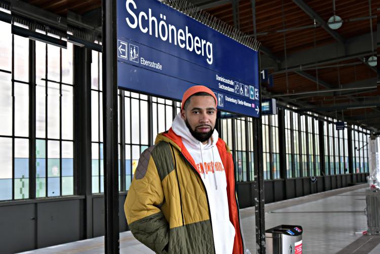 Eine Runde Berlin mit Rapper Megaloh