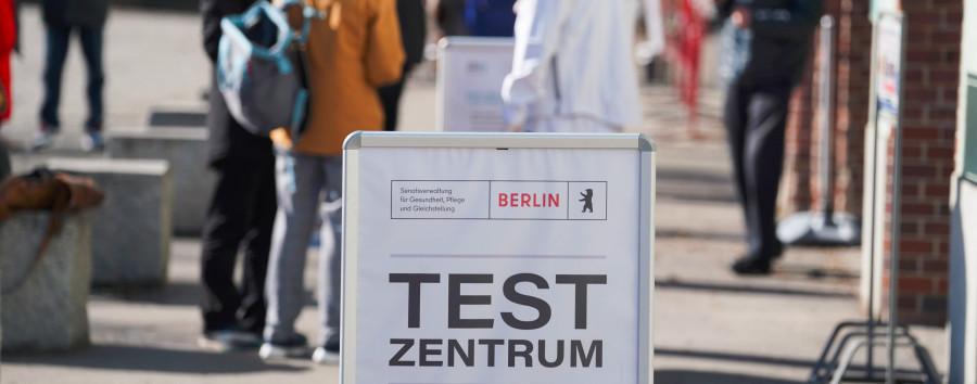 Berliner Testzentrum soll Miete zahlen – noch vor dem ersten Geld