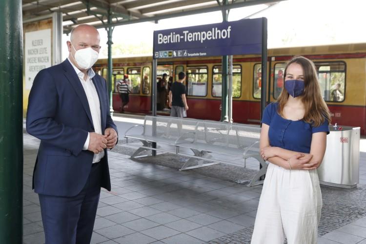 Ringbahn-Wahl-Runde mit Kai Wegner