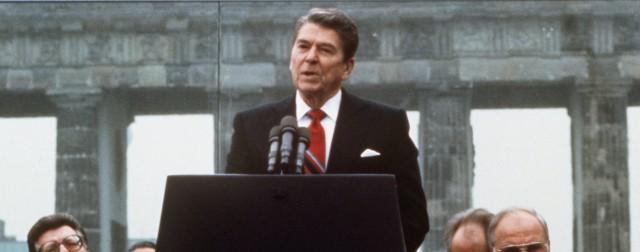 Danke, aber wir hatten gar keine Reagan-Statue bestellt