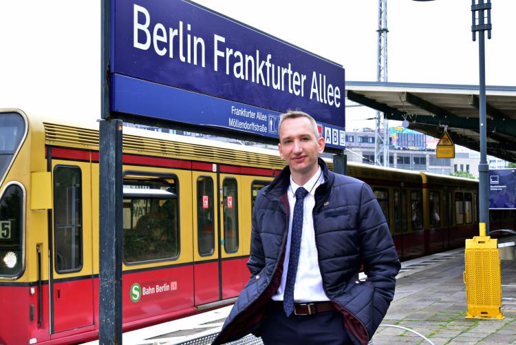 Eine (Führerstands)Runde Berlin mit Dirk Schiert