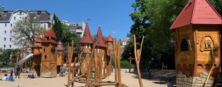 Berlins schönster Spielplatz liegt in Schöneberg