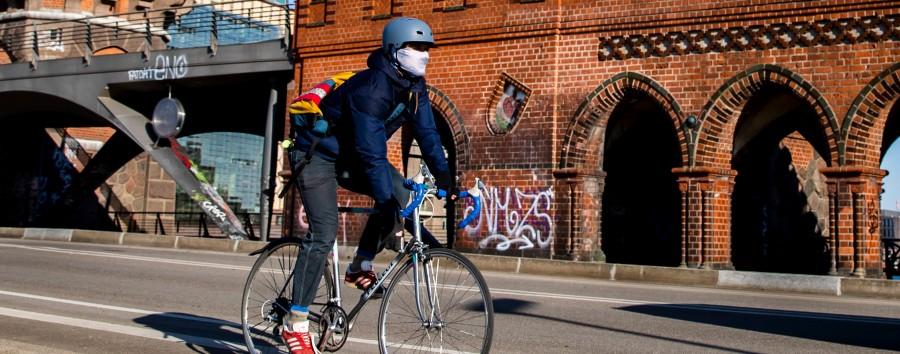 Breitere Radspuren, um das Ansteckungsrisiko zu minimieren?