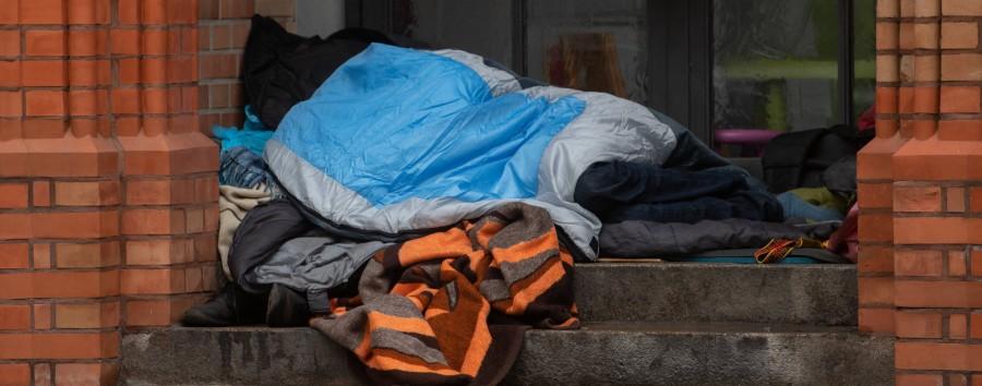Linke Aktivisten machen gegen die Obdachlosenzählung mobil