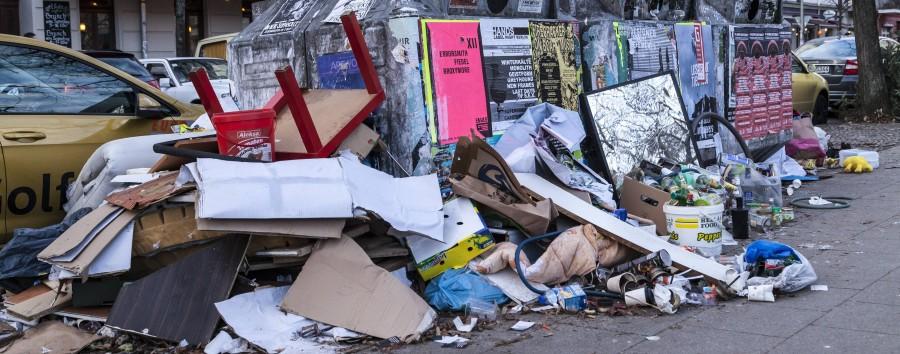 Berlin, du hast ein Müll-Problem