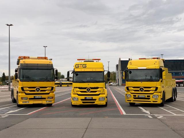 Erste Abschleppwagen der BVG sind da!