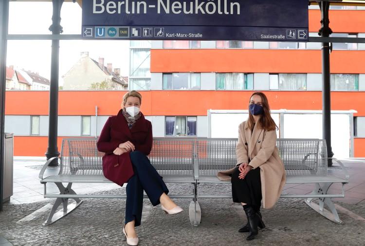 Berlin-Wahl-Runde mit Franziska Giffey