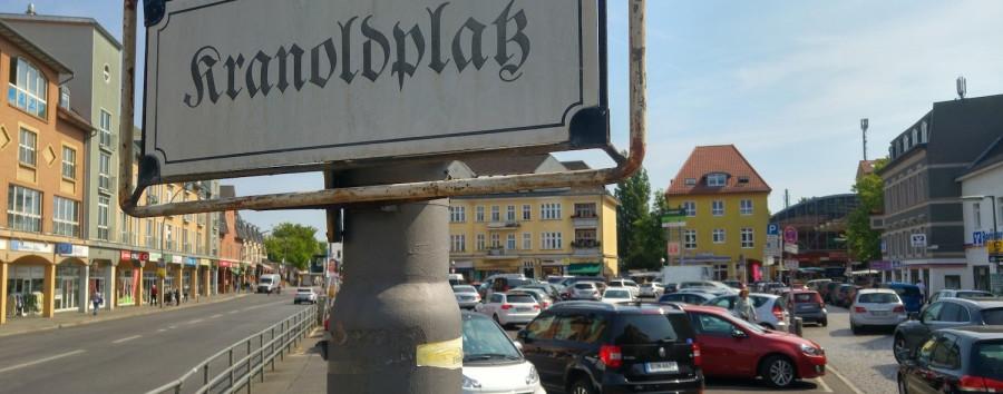 Der Kranoldplatz in Berlin-Lichterfelde ist für Radfahrer gefährlich – getan wird dagegen nichts