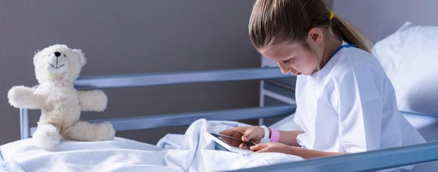 Eltern dürfen kranke Kinder nur noch eine Stunde täglich im Krankenhaus besuchen