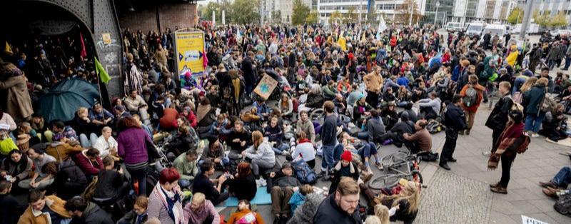 So haben die Klimaproteste den Verkehr in Berlin beeinträchtigt