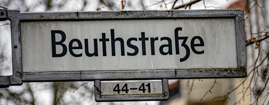 Beuthstraße in Mitte – Bezirksamt schließt Umbenennung nicht aus