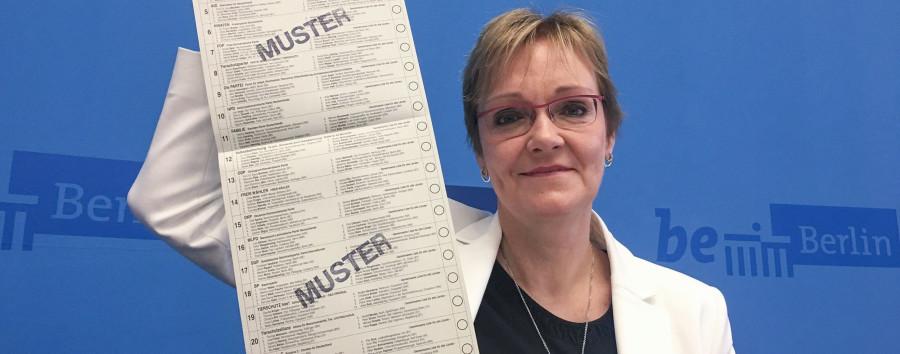 Spandau vermeldet 2,19 Meter: Berlin sucht den längsten Stimmzettel