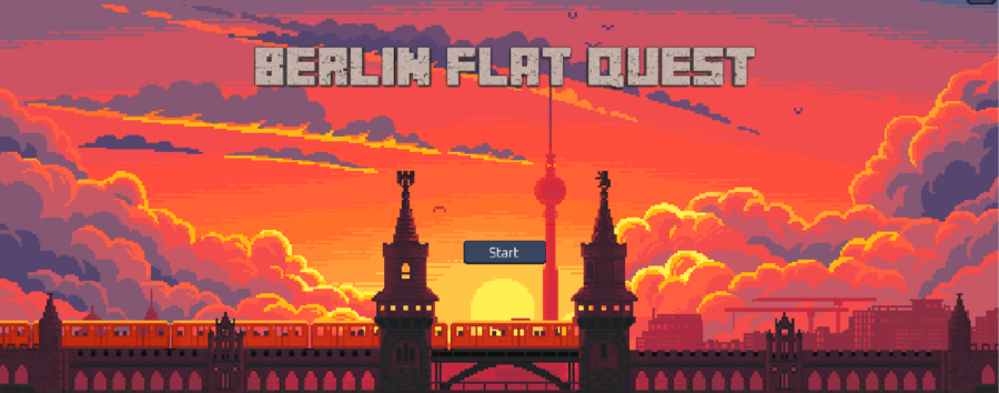 Ein Online-Spiel will auf die Wohnungssuche in Berlin vorbereiten