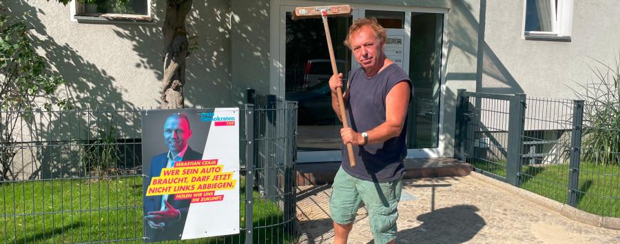 Wie ein ehemaliger Berliner Hausbesetzer jetzt Sebastian Czaja rettet