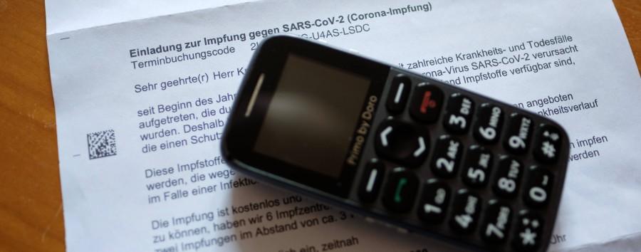 Berliner bekommen Impfeinladungen mit falschen Codes zugeschickt