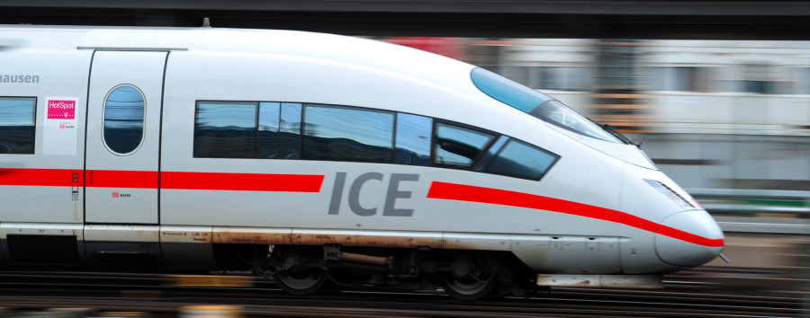 Lauter schnelle, schnellere und superschnelle Sprinter: So wirbt die Deutsche Bahn nach dem BER-Chaos für sich