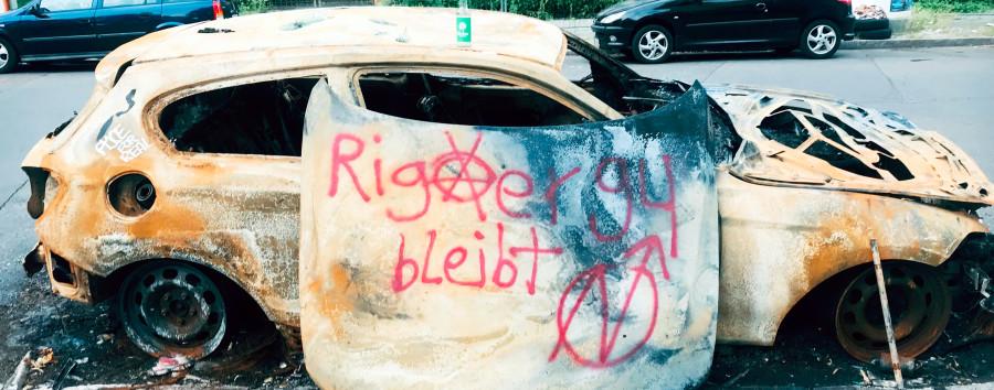 Fast 300 angezündete Autos – kein verurteilter Täter