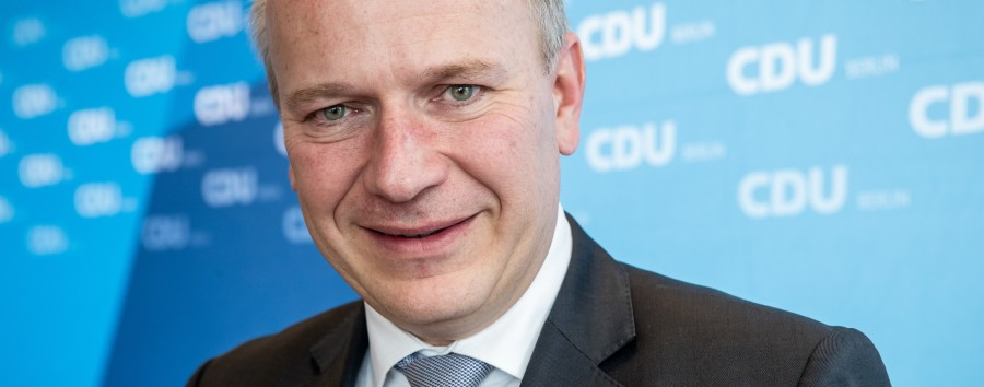 Kai Wegner wird Spitzenkandidat derBerliner CDU
