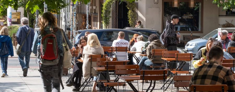 So halten es die Berliner Bezirke mit Pop-up-Straßenlokalen