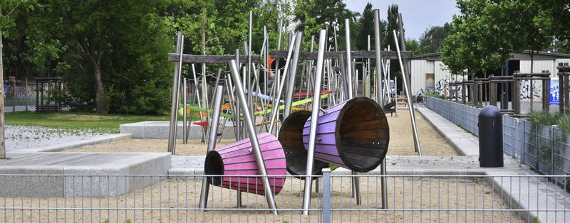 Kaum inklusive Spielplätze in Berlin