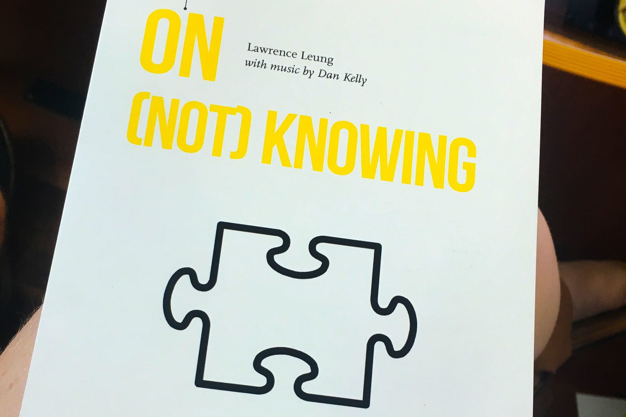 On-not-knowing
