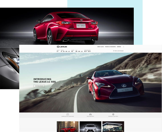Experience alignment with lexus and IE Digital