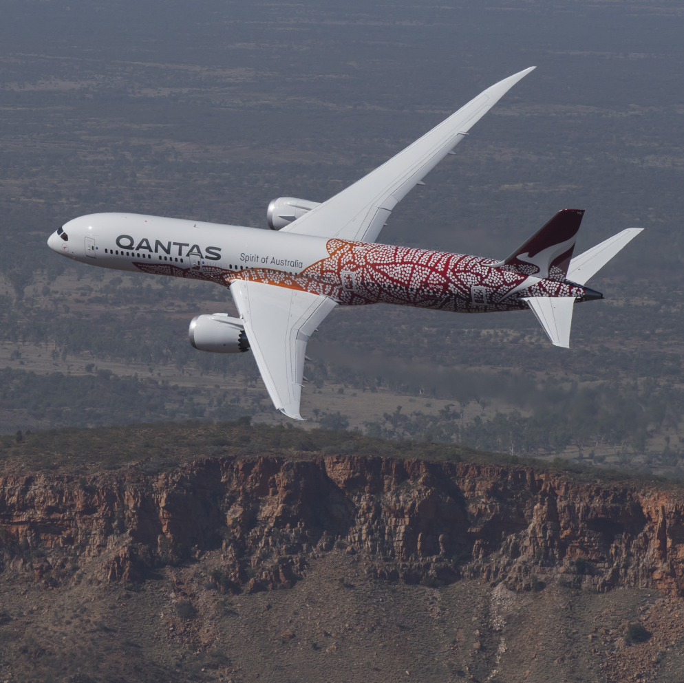 Héros Qantas