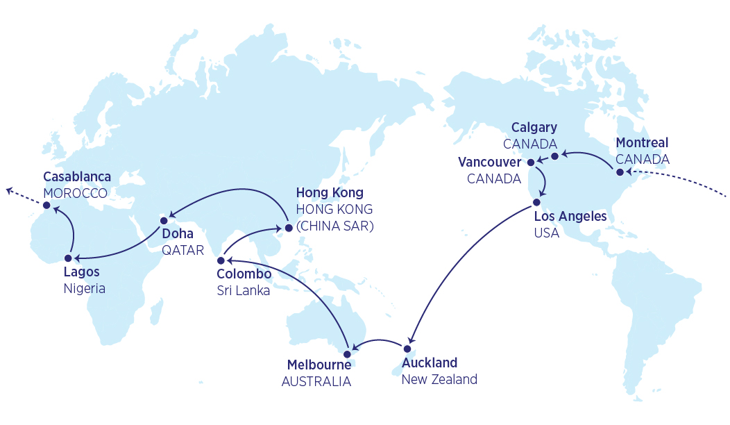 Mappa 34000 miglia