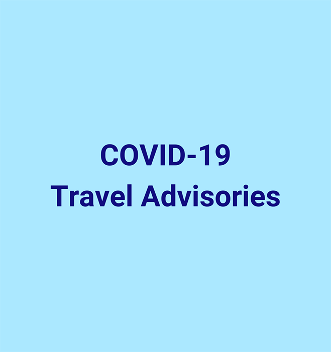 COVID-19 Travel Advisories v5