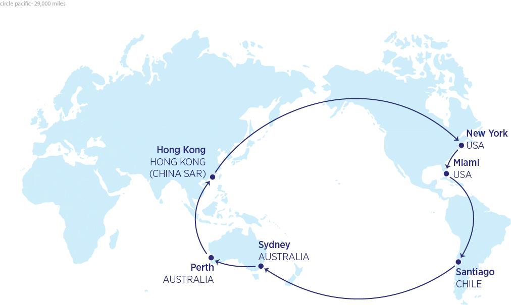 Mappa 29000 miglia