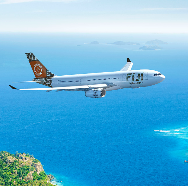 Fiji Airways ヒーロー