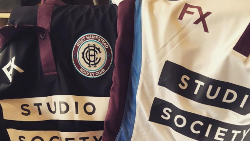 Home and Away WHHC shirts with Studio Society logos
