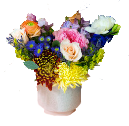 flower arrangement - I tried my best - 500 x 500