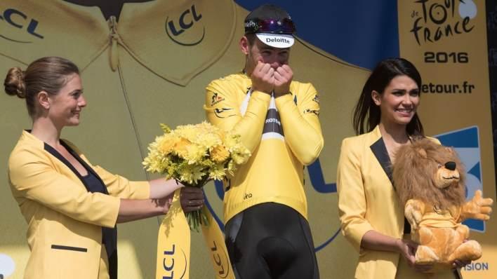 Mark Cavendish yelllow Tour de France